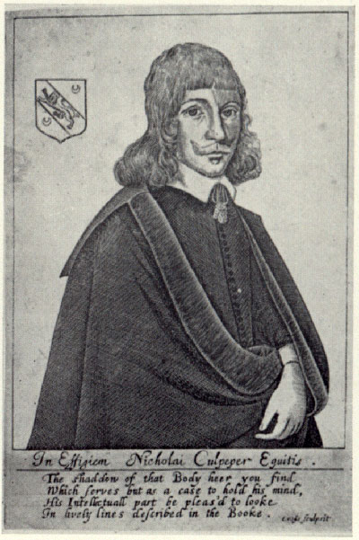 mid-17th-century portrait engraving