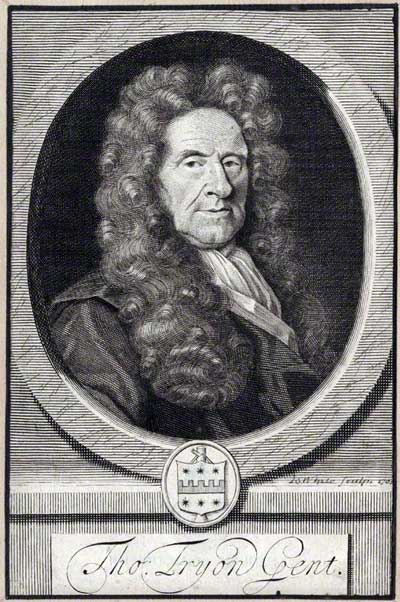 early-18th-century portrait engraving